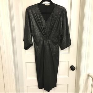 Beautiful vintage style sparkley midi dress